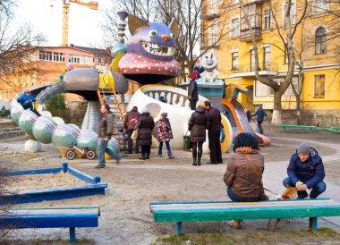 The Wonderland playground
