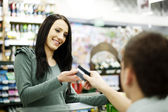 placení kreditní kartou za nákup