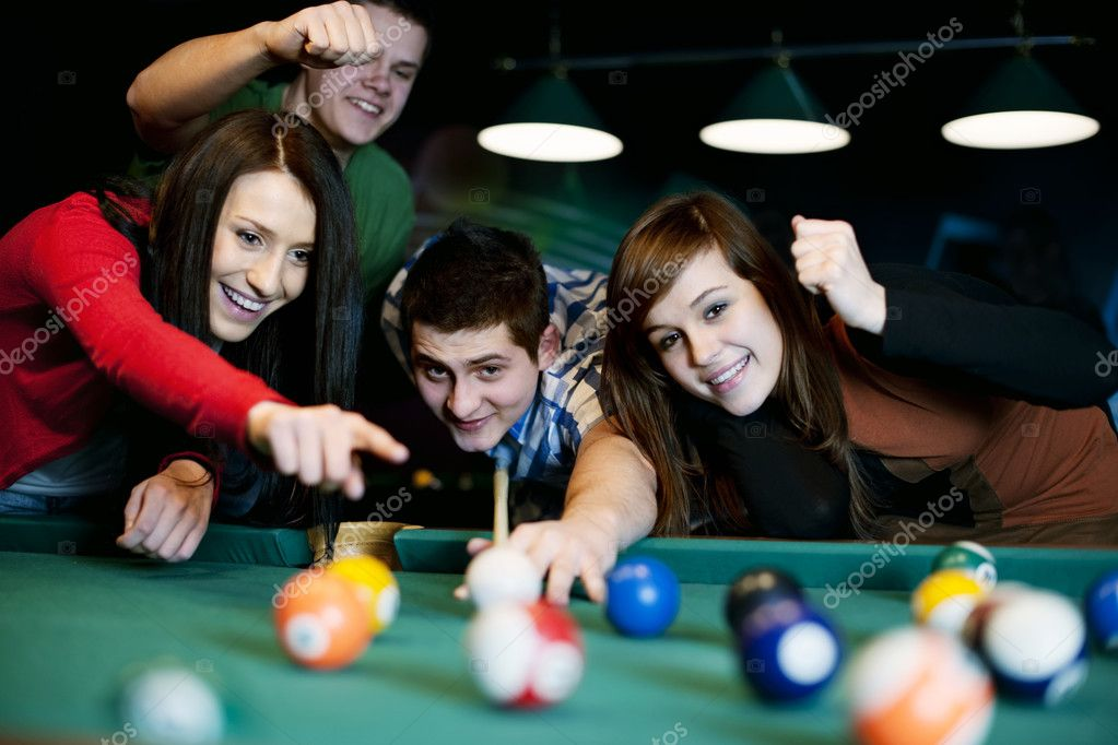 Flirten beim bowling