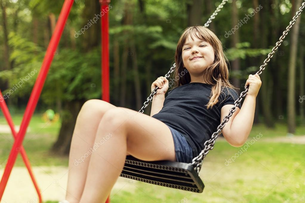 Sexy girl on swing, naked amateur foreign girls