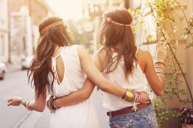 Beautiful boho girls