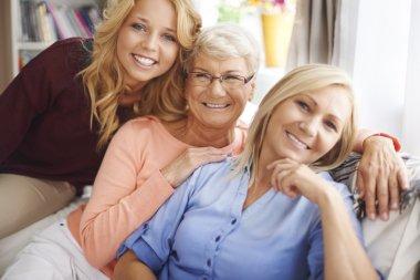 Lovely family women