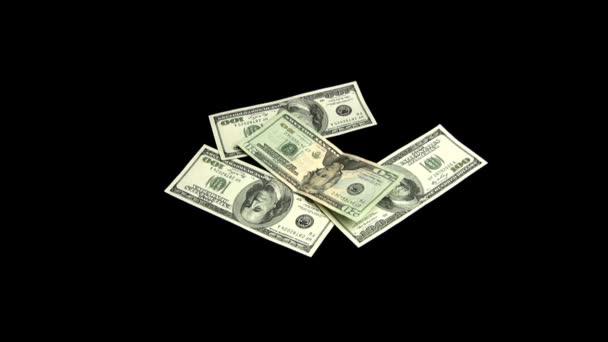 The dollars fall