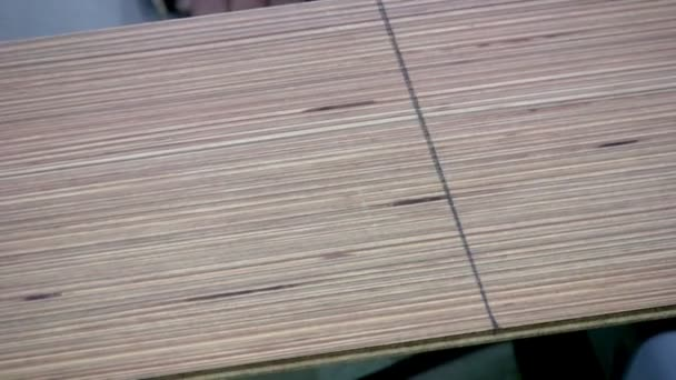 Sawing laminate