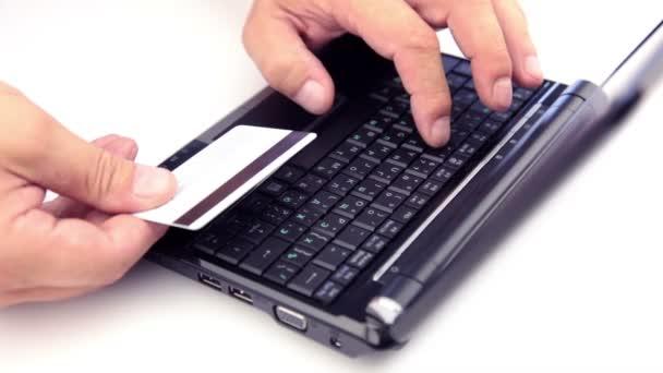 buting kreditní kartou z webu