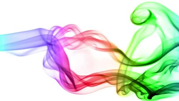 pozadí abstraktní s barevnými skutečné kouře