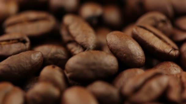 pozadí s kávová zrna