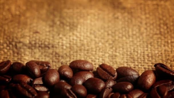 alá tartozó szemes kávé. makró