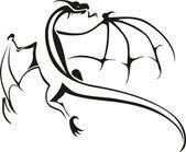 Fotografie Dragons - Tribal - Symbol