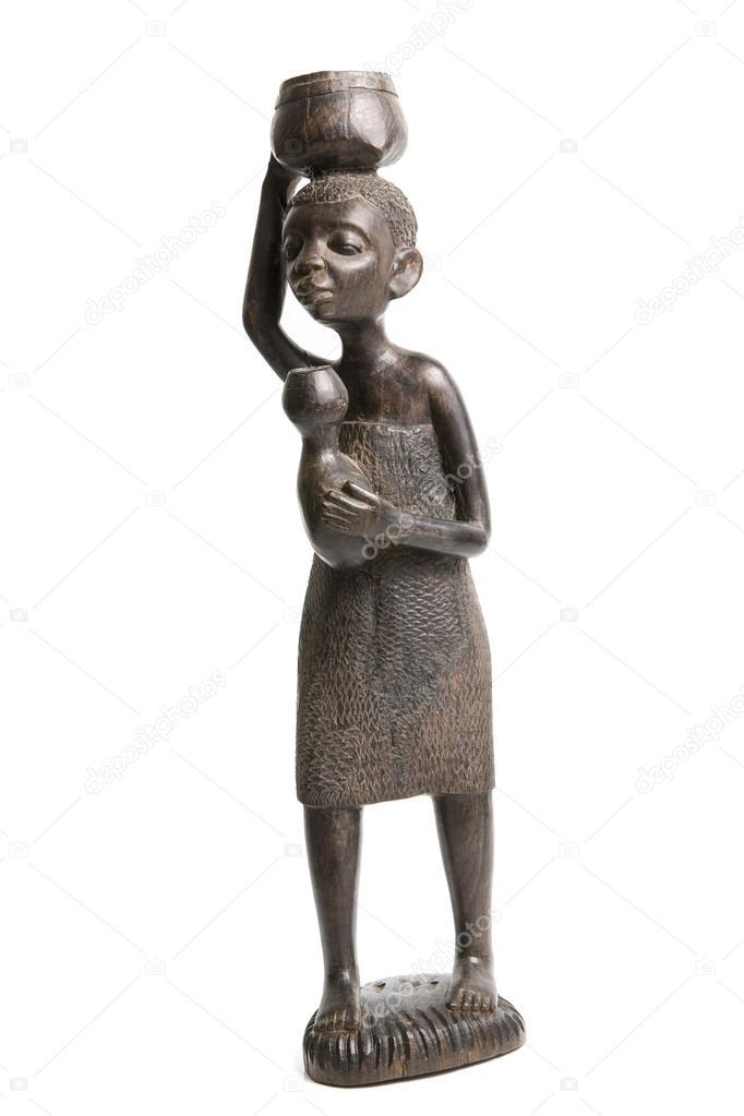 Негр скульптура