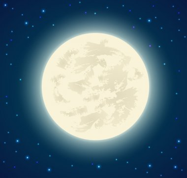 Full moon background