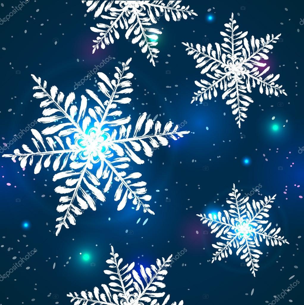 snowflake pattern shine texture stock vector vadelma stock 34397465