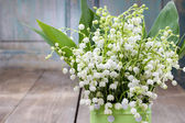 Bouquet of lily of the valley flowers
