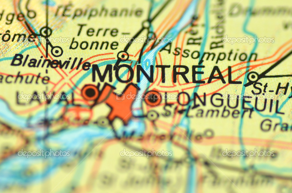 A closeup of Montreal, Quebec in Canada on a map – Stock Editorial on old montreal map, montreal underground city shopping map, phoenix arizona map, calgary map, colonia juarez chihuahua mexico map, toronto map, montreal canada, montreal pop festival, halifax nova scotia map, sydney new south wales map, montreal ice hotel map, montreal trudeau airport map, vancouver map, victoria british columbia map, montreal people, campinas brazil map, montreal olympic stadium map, gaspe peninsula map, paris france map, canada map,
