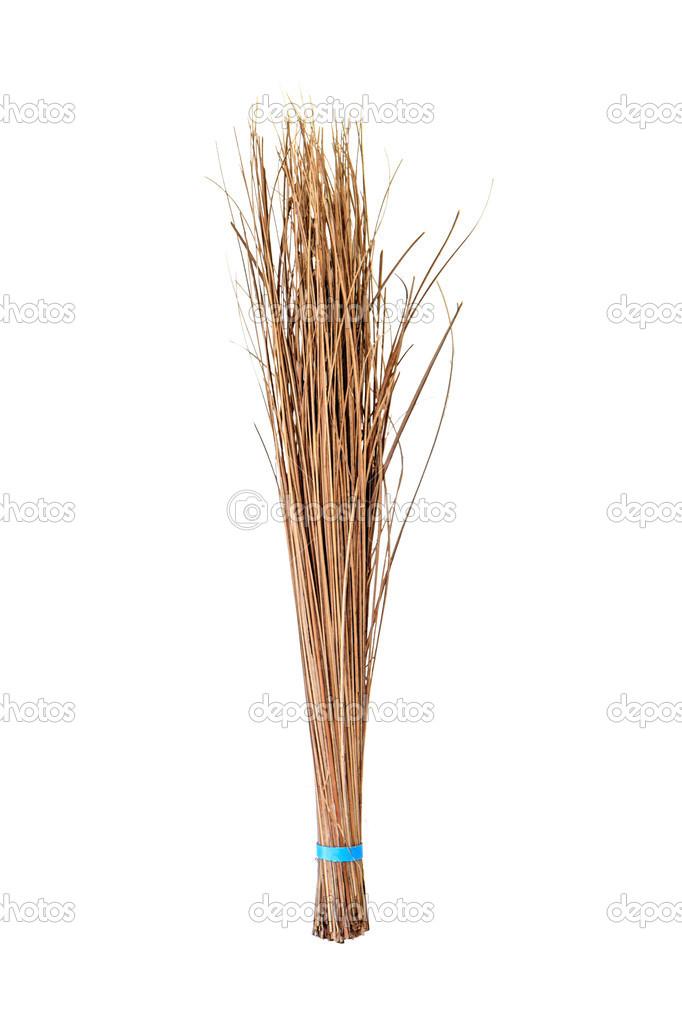 Ɖ�帚使从椰子叶,手工制作的产品 ś�库照片 169 Bunwit#33122429
