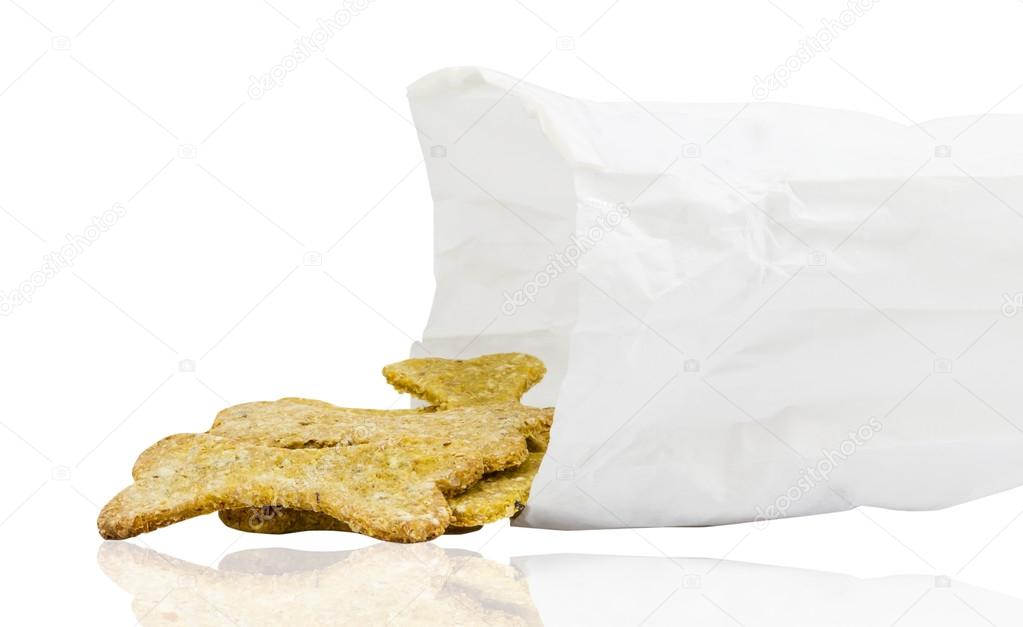 Dog food biscuit