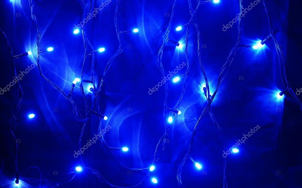 blauwe led verlichting — Stockfoto © MikeBraune #23172580