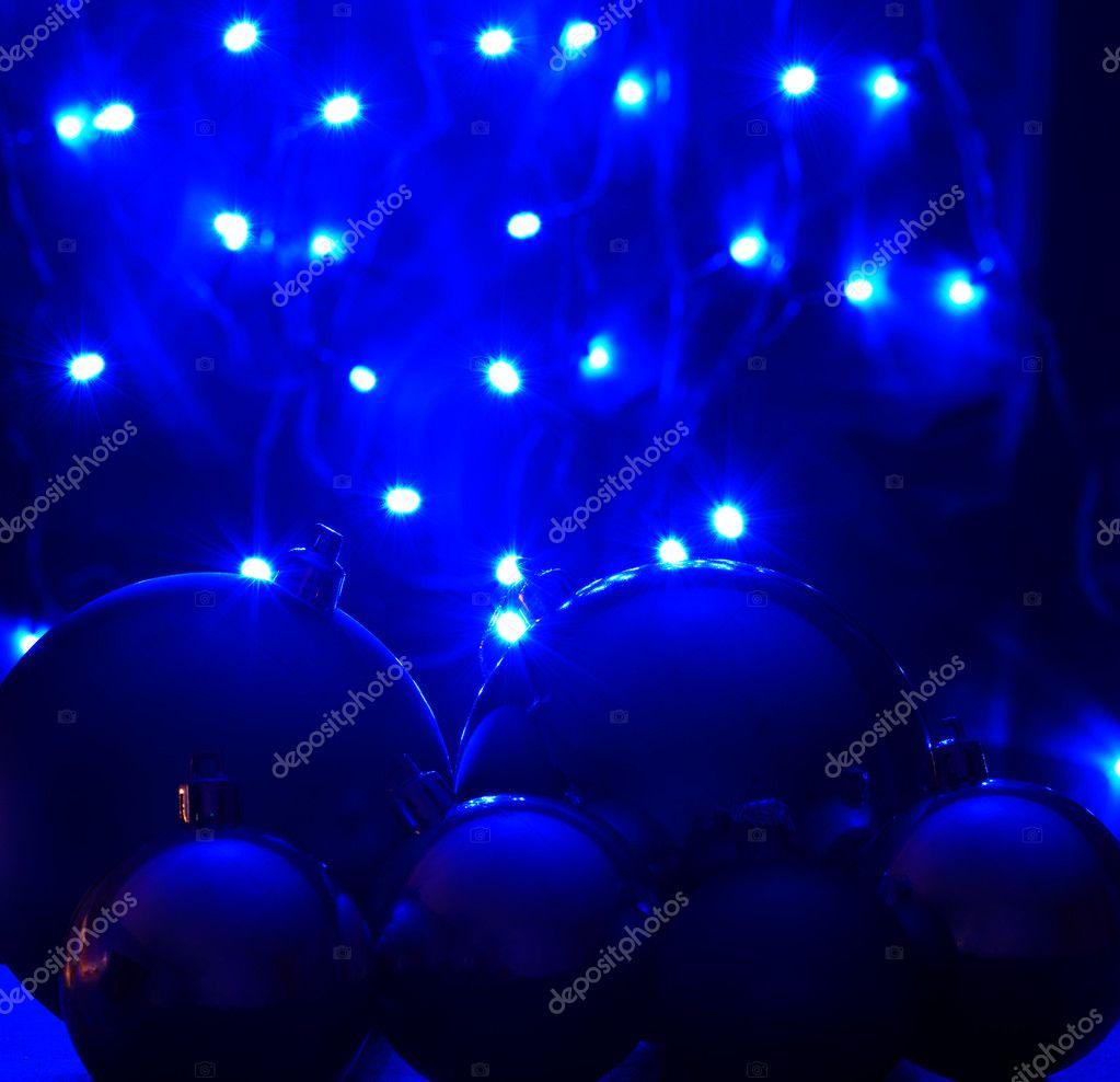 blauwe led verlichting — Stockfoto © MikeBraune #23224964