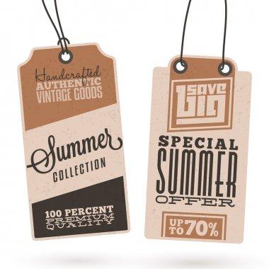 Summer Sales Hang Tags
