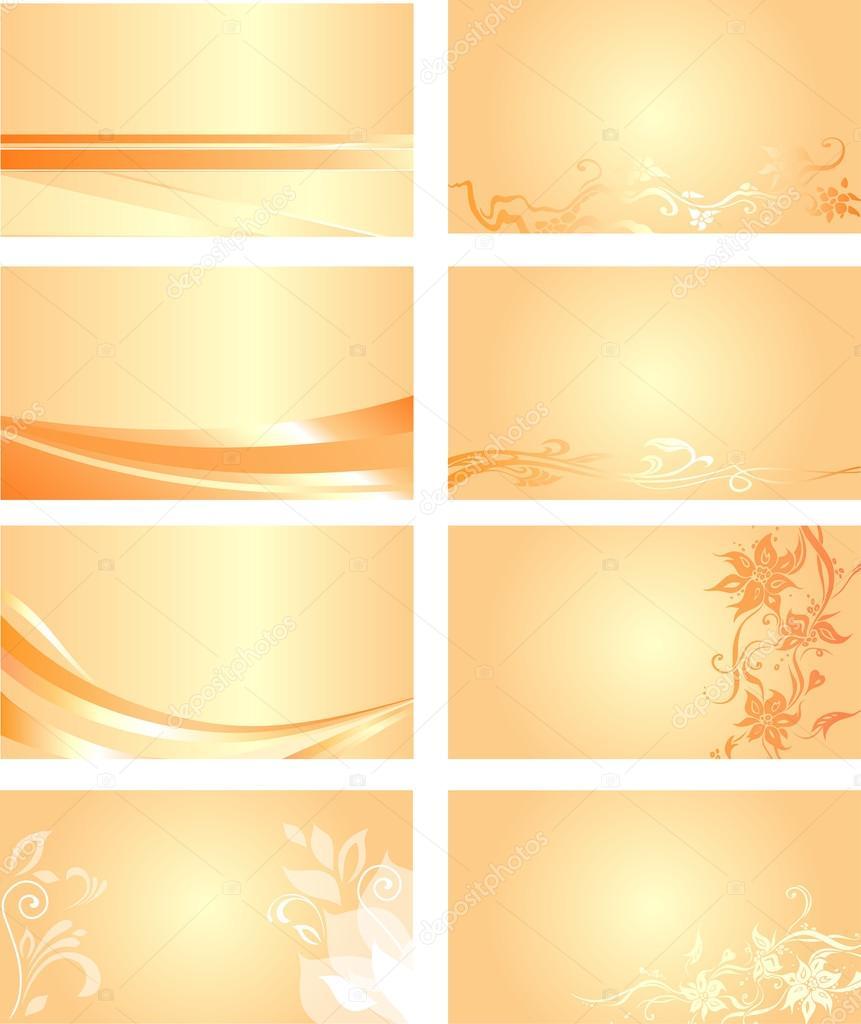 Orange business card background stock vector erinvilar 23368658 orange business card background stock vector colourmoves