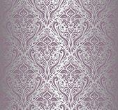 Violet  Silber Vintage Tapete