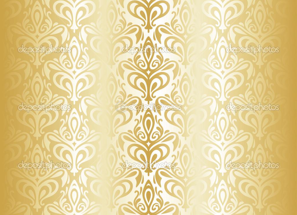 Bright luxury vintage wallpaper stock vector erinvilar - Papel pared vintage ...