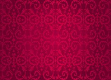 Red vintage wallpaper background