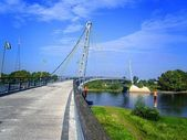 most pro chodce přes Labe