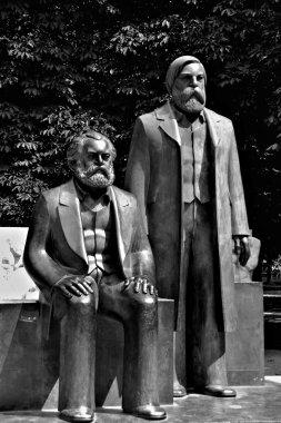 The Marx-Engels Forum in Berlin
