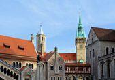 Fotografie die alte Stadt Braunschweig