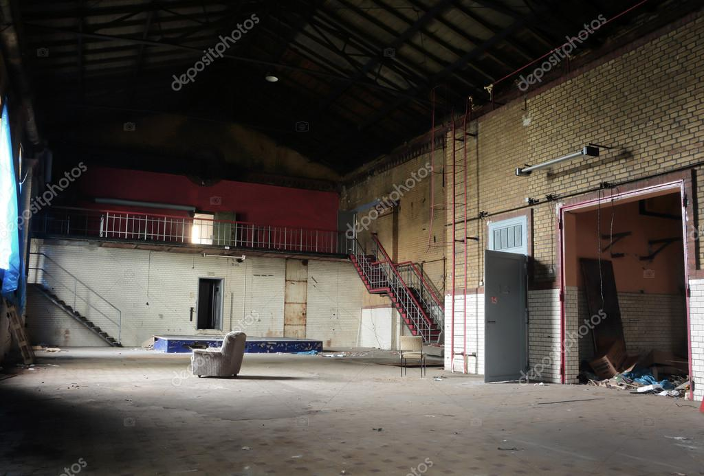 Abandoned disused factory