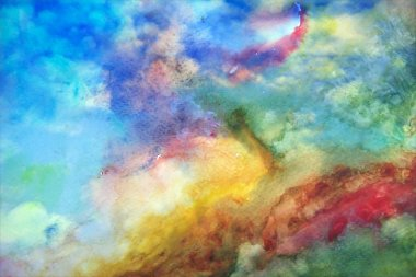 Cool Abstract Watercolor Background