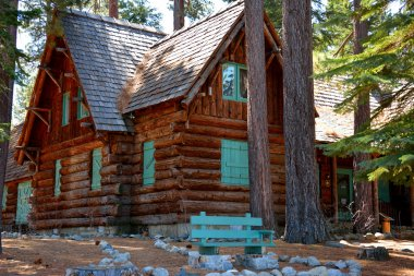 Old Rustic Cabin - Tallac Historic Site South Lake Tahoe