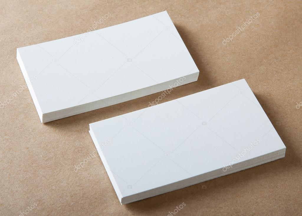 blank business cards — Stock Photo © fontgraf #39331631