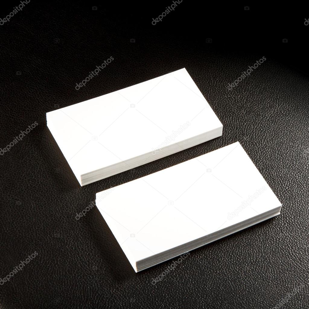 blank business cards — Stock Photo © fontgraf #42419117