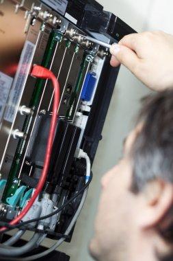 Telephone Switchboard - Screwing Componenet