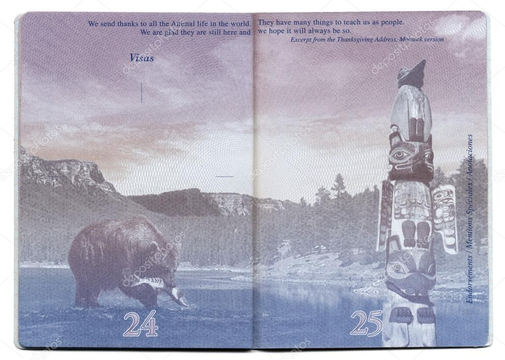 USA Passport Blank Page – Stock Editorial Photo ...