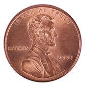 izolované penny - hlavy čelní