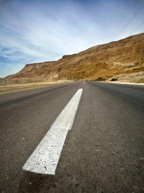 Desert Asphalt Road