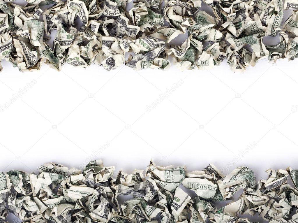marco efectivo prensado — Foto de stock © eldadcarin #22442991