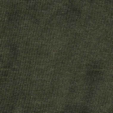 High resolution close up of khaki cotton fabric stock vector