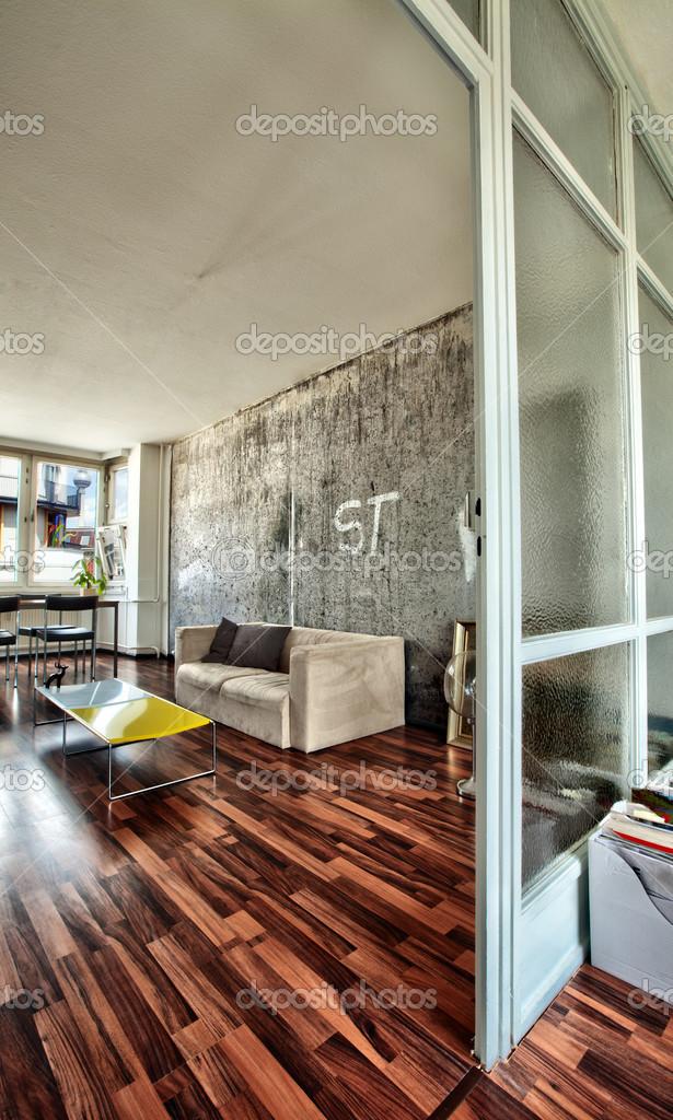 Berlino Appartamento soggiorno — Foto Stock © eldadcarin #23670441