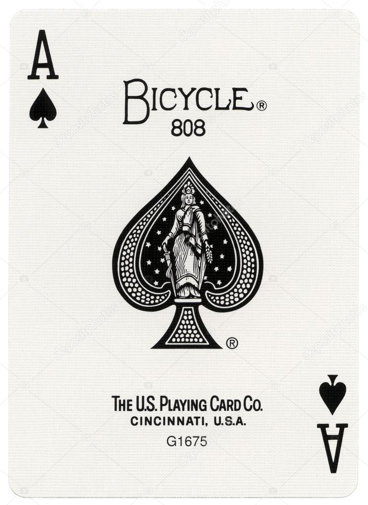 Playing Card Ace Of Spades Stock Editorial Photo Eldadcarin