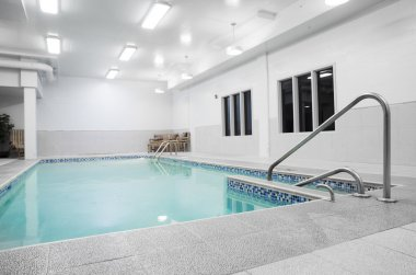 Small private indoor pool