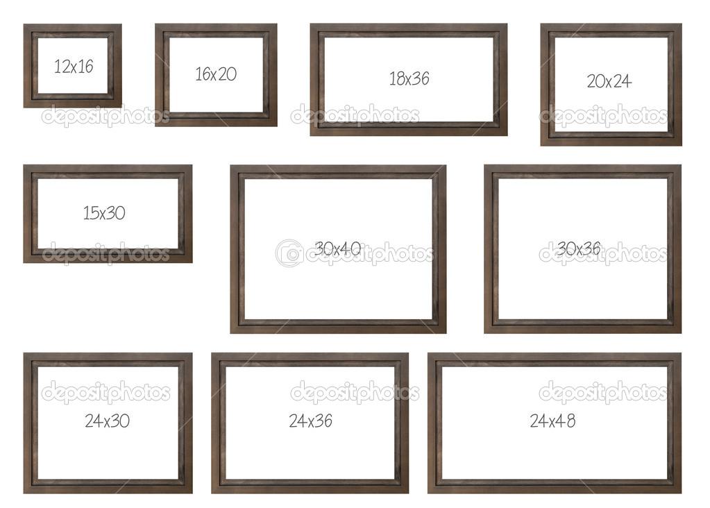 i dieci pi popolari vendendo dimensioni cornici foto