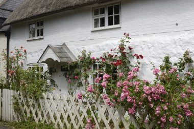 English country cottage. Avebury. England