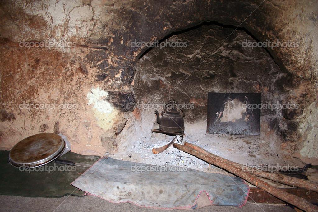 im Dorf Küche — Stockfoto © Dr.Art #24606783
