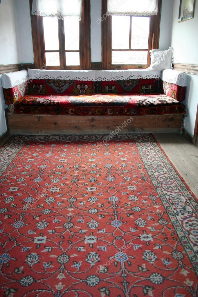 Intérieur Du0027une Maison Traditionnelle Turqueu2013 Images De Stock Libres De  Droits
