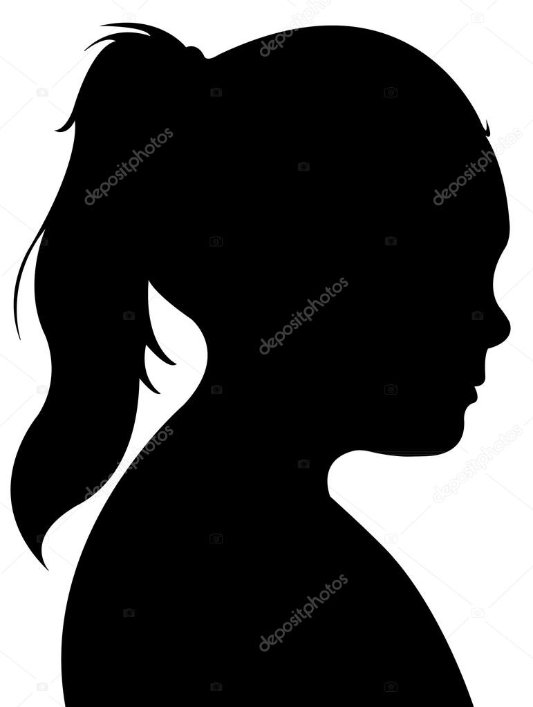 how to make silhouettes of heads