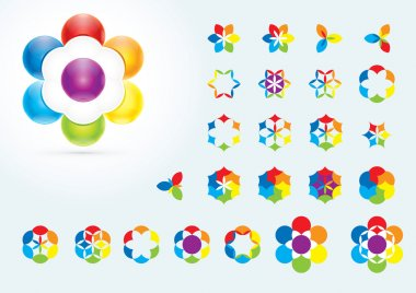 Abstract Design Elements. Creative symbols collection